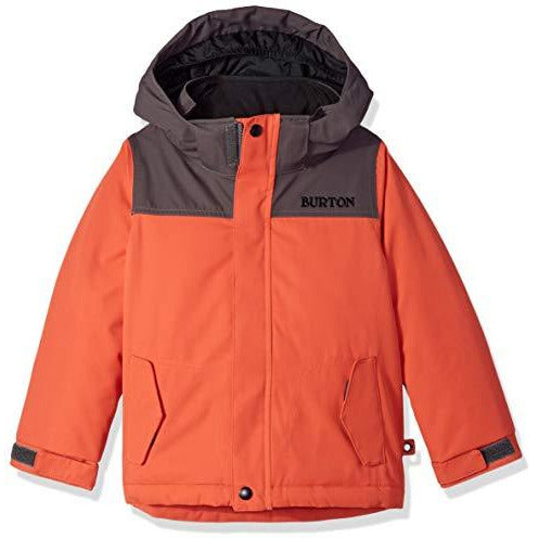 Burton Toddler Amped Jacket, Hot Sauce/Trocadero, 2T
