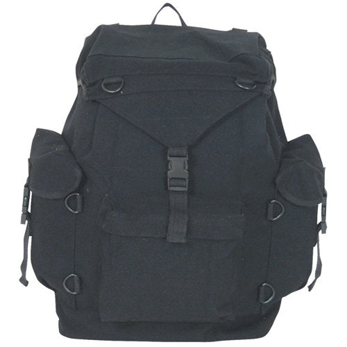 Fox Outdoor Products Australian Style Rucksack, Black