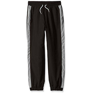 French Toast Boys' Toddler Athletic Track Pant, Black, 2T