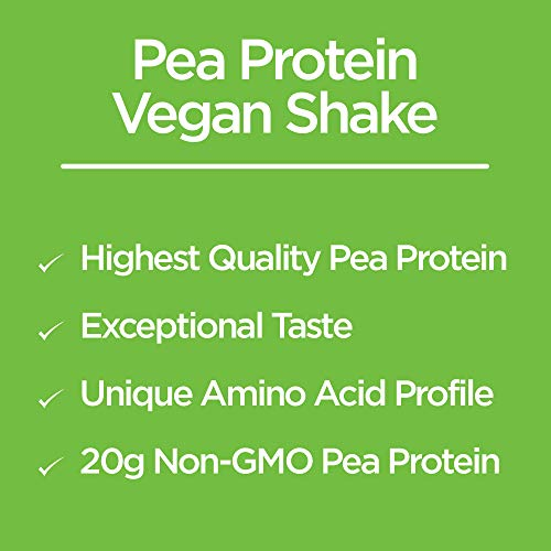 "Naturade Plant Based Vegansmart Vegan Pea Protein €"" Chocolate €"" 20.6 Oz"