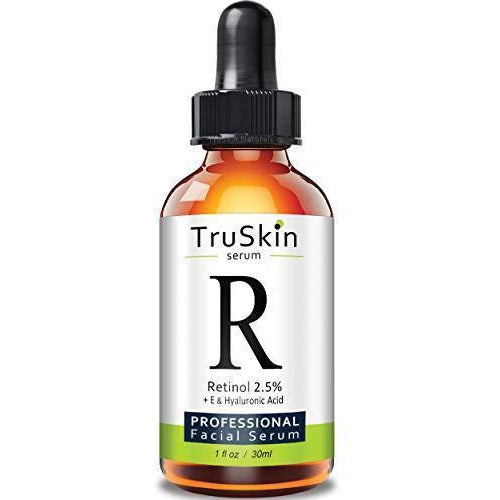 Truskin Naturals Retinol Serum For Wrinkles Fine Lines Contains Vitamin A E And Hyaluronic Acid 1Oz