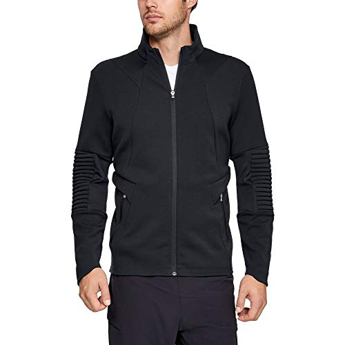 Under Armour Men's Q4 Perpetual Jacket, Black (001)/Black, Small