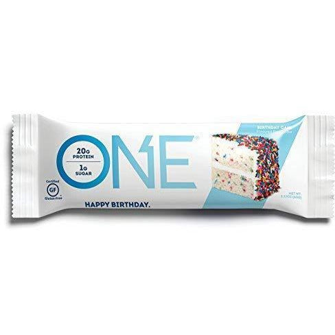 One Bar, Birthday Cake, 12 Count (2.12 Oz. Per Bar / 25.44 Oz. Per Box)