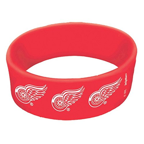 "Amscan ""Detroit Red Wings Collection"" Cuff Band Party Favor"
