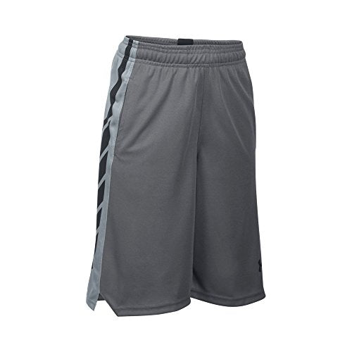 Under Armour Boys' Select Basketball Shorts, Graphite /Black, Youth Small