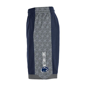 Under Armour NCAA Penn State Nittany Lions Boys Isolation Shorts, Navy, Large