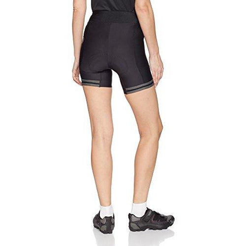 PEARL IZUMI W Elite Escape Half Shorts, Black Phyllite Texture, Large