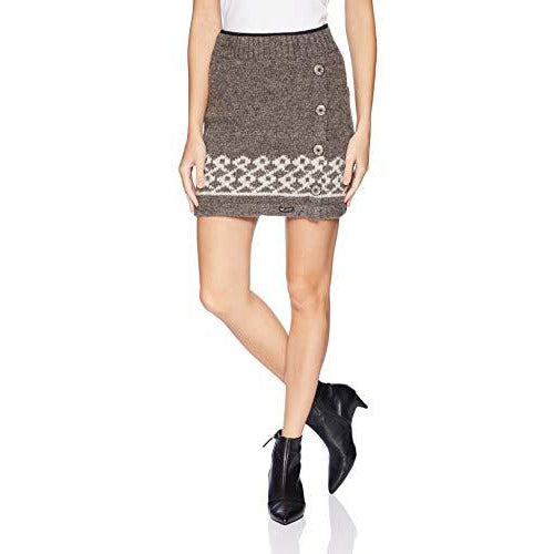 Everest Designs Women's Dolomite Skirt, Brown, Large