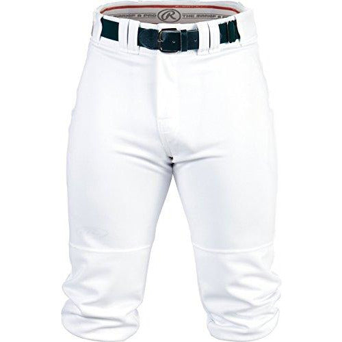 Rawlings Youth Knee-High Pants, Large, White