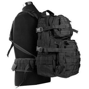 Jtech Gear D-2 (A+) Assault Backpack, Black