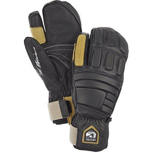 Hestra  Morrison Pro Model 3-Finger Gloves, Size 7, Black