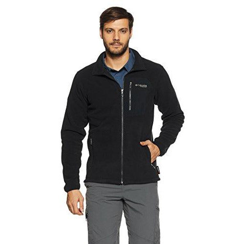 Men s Titan Pass 2.0 Fleece Jacket - S - BLACK