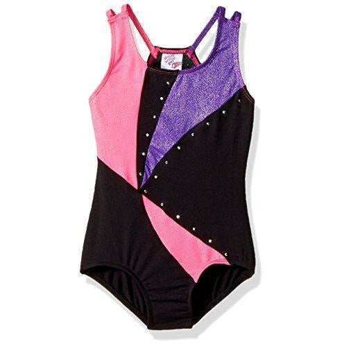 Jacques Moret Girls' Fun Gymnastics Leotard