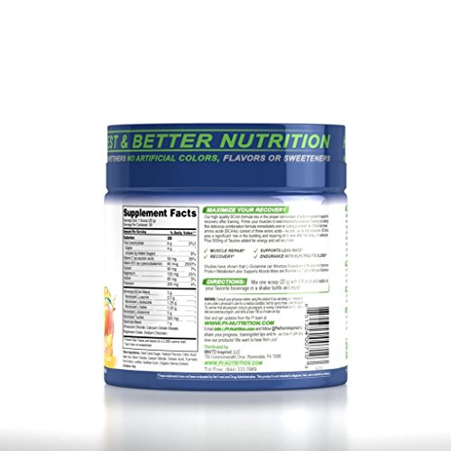 Performance Inspired Nutrition Bcaa Plus, Pineapple Mango Delight, 1.46 Lb