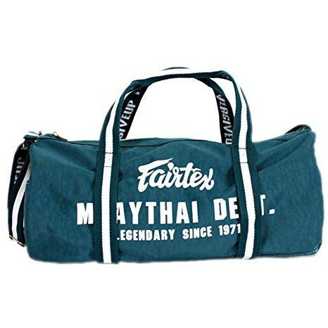 Fairtex BAG9 Retro Style Barrel Bag Thai Boxing Heavy Gym Bag Myay Thai MMA