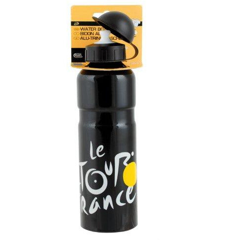 Tour De France Alloy Water Bottle (Black)