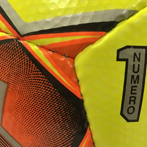 Select Numero 10 Soccer Ball, Yellow/Orange, Size 5