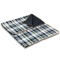 Oniva - A Picnic Time Brand Outdoor Picnic Blanket Tote, English Plaid