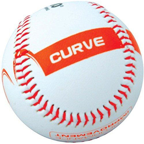 Champro Curve Pitcher Training Baseball (White, 9-Inch)