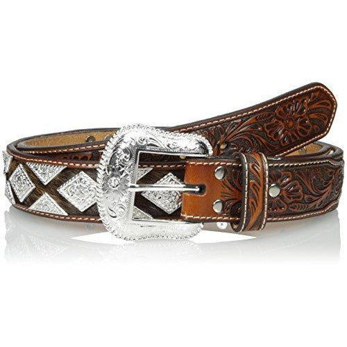 Nocona Men's Pro Metal Shield Bling, Tan, 40