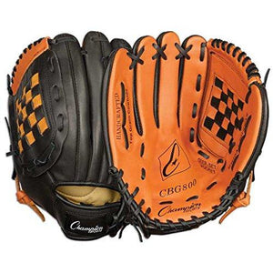 Champion Sports Leather Front Fielder'S Glove (Right-Handed, 11-Inch)