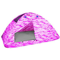 Pacific Play Tents 19781 Kids Pink Camo Bed Tent Playhouse - Twin Size