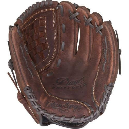 Rawlings Player Preferred Baseball Glove, Regular, Slow Pitch Pattern, Basket-Web, 12 Inch