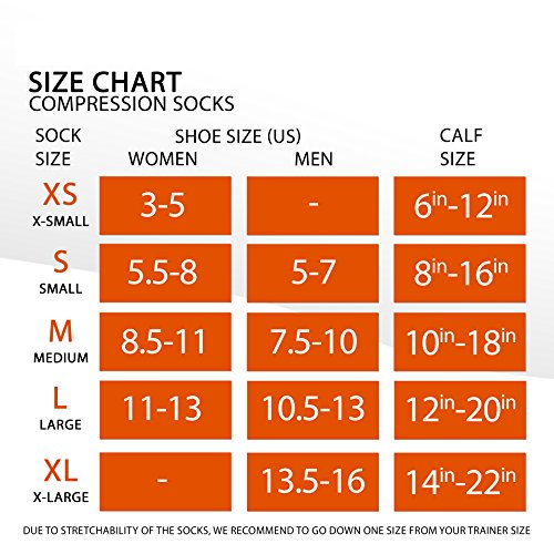 Sox Italy, Best Patented Graduated Compression, Silver Drysat Increased Circultion For Any Sport Or Activity Black/White, Medium -