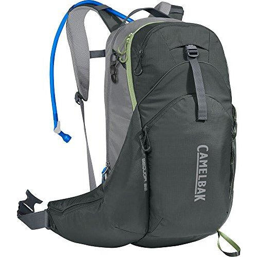 CamelBak Sequoia 22 100 oz Hydration Pack, Olive Granite/Foam Green