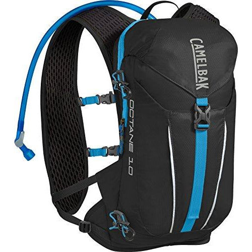 CamelBak Octane 10 70 oz Hydration Pack, Black/Atomic Blue