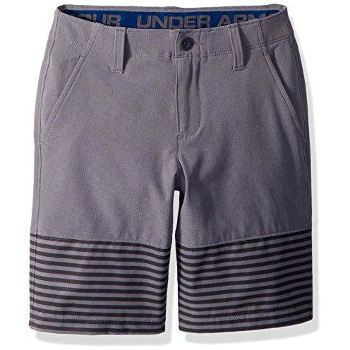 Under Armour Boys' Match Play Vented Shorts, Zinc Gray (513)/Zinc Gray, 8