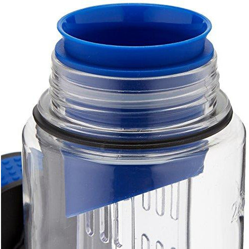 Cook Pro Tritan Infusion Sport Bottle With Twist Lid, Blue