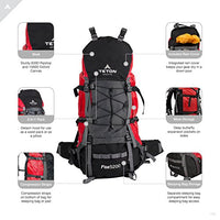 "Teton Sports Fox 5200 Internal Frame Backpack €"" Not Your Basic Backpack; High-Performance Backpack For Backpacking, Hiking, Camp"