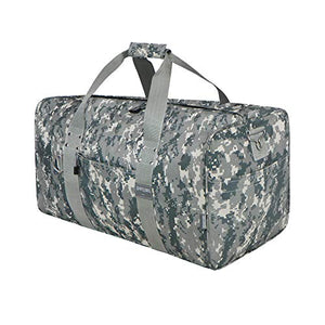 "East West U.S.A Dc2030 30"" Tactical Digital Sports Gym Travel Duffle Gear Bag, Acu Camo"