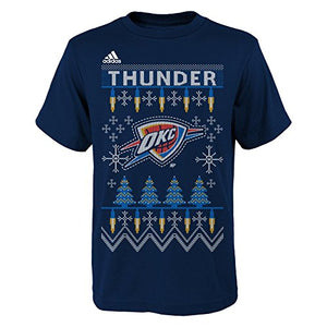 Nba Youth Boys 8-20 Thunder Light The Tree Short Sleeve Tee-Strong Blue-Xl(18)