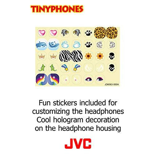Jvc Wired Earphones - Wired With Stickers, Blue (Ha-Kd1A)