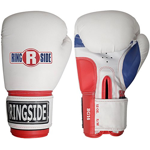 Ringside Pro Style Boxing Training Gloves Kickboxing Muay Thai Gel Sparring Punching Bag Mitts