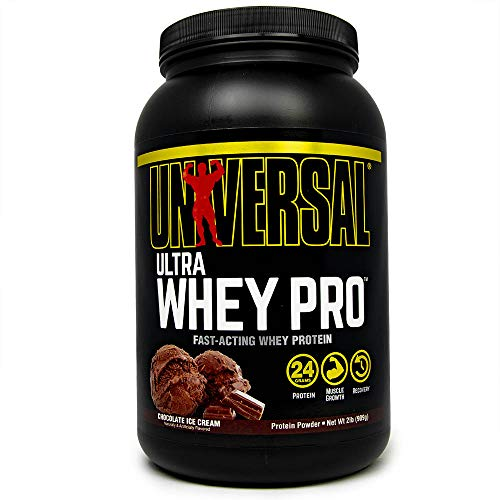 Universal Nutrition Ultra Whey Pro, Chocolate Ice Cream, 2-Pounds