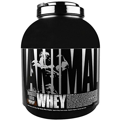 Universal Nutrition Animal Whey Isolate Loaded Whey Protein Powder Supplement, Brownie Batter, 4 Pound