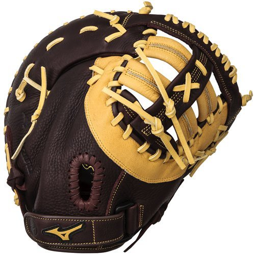 Mizuno 312453.F887.09.1250 Franchise GXF90B2 First Base Mittens, Coffee Cork