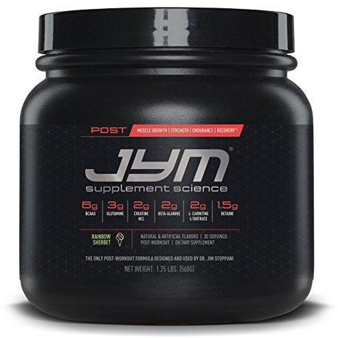 Post Jym Active Matrix - Post-Workout With Bcaa'S, Glutamine, Creatine Hcl, Beta-Alanine, And More | Jym Supplement Science | Rain