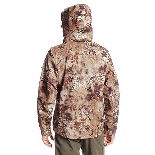 Kryptek Koldo Rain Jacket, Highlander, Medium