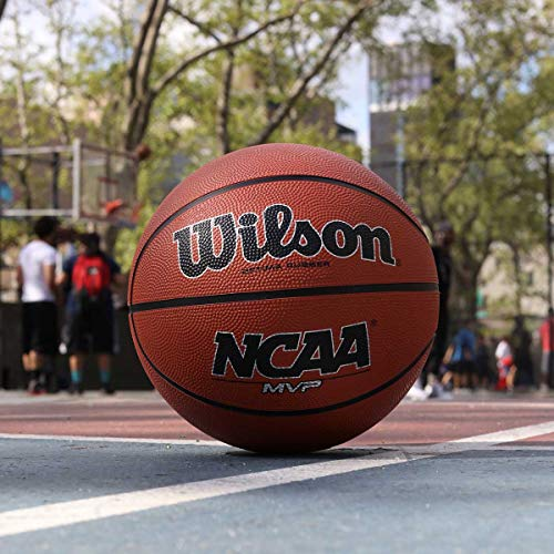 Wilson NCAA MVP Rubber Basketball, Intermediate - 28.5""