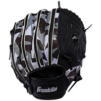 "Franklin Sports 10"" Rtp Teeball Performance Gloves, Right Hand, Black/White"