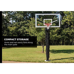 Goalrilla Basketball Yard Guard Easy Fold Defensive Net System Quickly Installs on Any Goalrilla Basketball Hoop