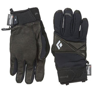 Black Diamond Terminator Cold Weather Gloves, Black, Medium