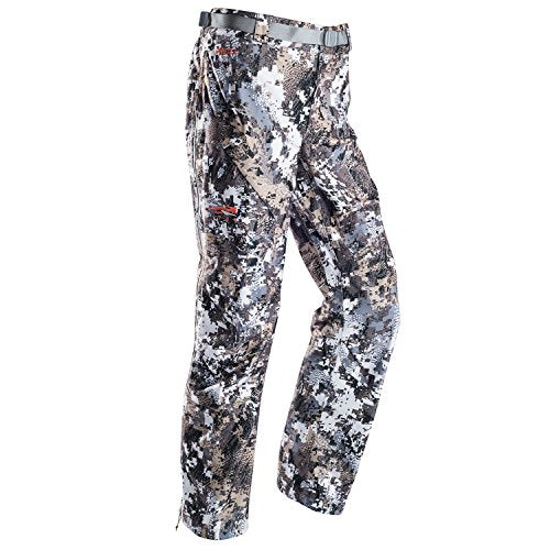 SITKA Gear Womens Downpour Pant Optifade Elevated II Large