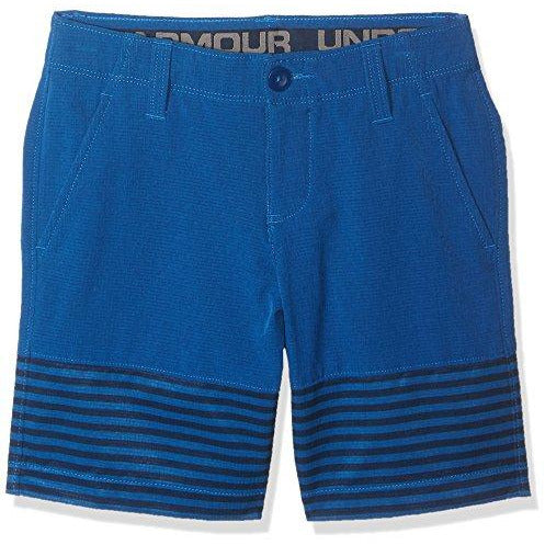 Under Armour Boys' Match Play Vented Shorts, Moroccan Blue (487)/Moroccan Blue, 12