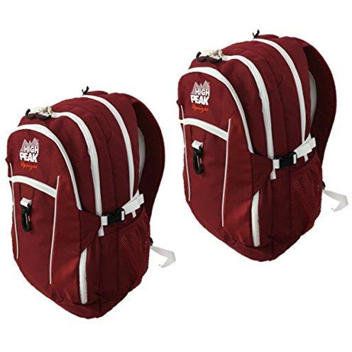 Alpinizmo High Peak Usa Vector 38 Backpack (Set Of 2), Red, One Size