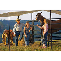 Shelterlogic Shade Sail, Sand, 6 X 15 Ft.